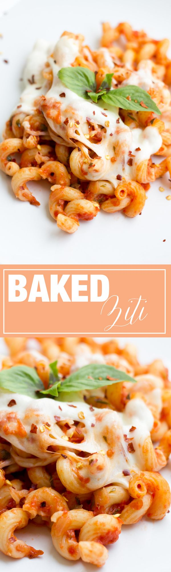 The best BAKED ZITI recipe out there! Finally a great way to utilize your leftover pasta!
