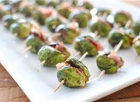Roasted Brussels Sprouts and Prosciutto BitesRecipe, Brusselsprouts, Fingers Food, Roasted Brussels Sprouts, Appetizers, Brusselssprouts, Prosciutto Bites, Replacement Prosciutto, Brussel Sprouts