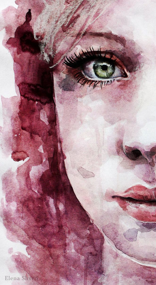 Best 25+ Watercolor face ideas on Pinterest | Portrait ...