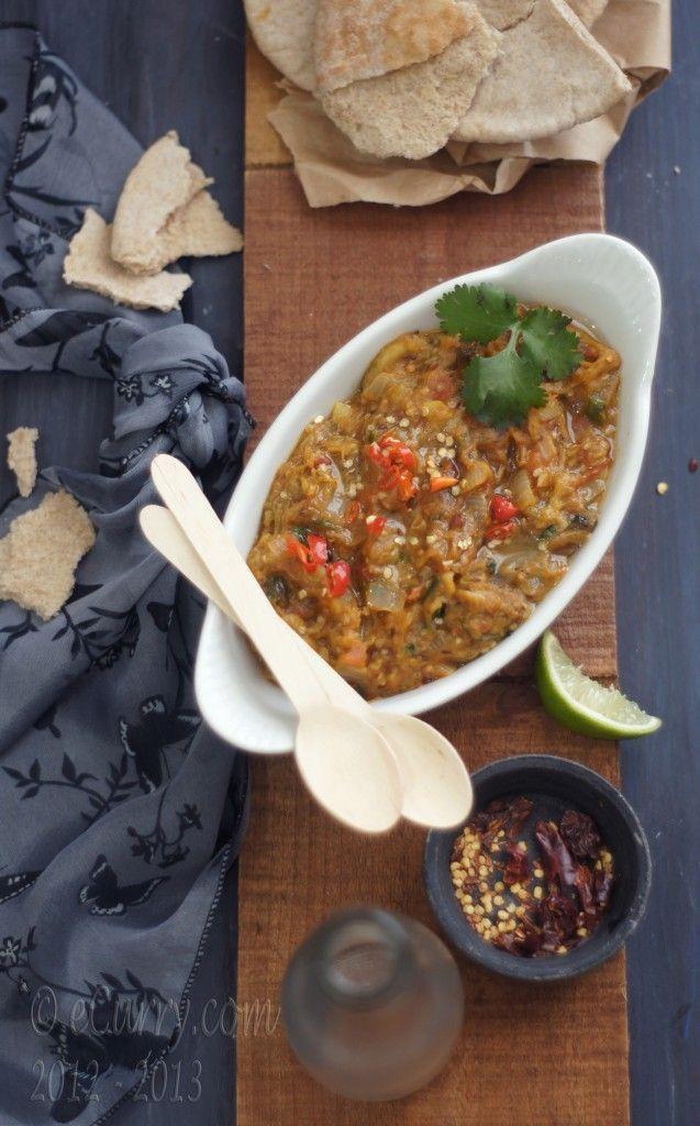 Baingan Ka Bharta - Smoky and Spiced Eggplant Mash