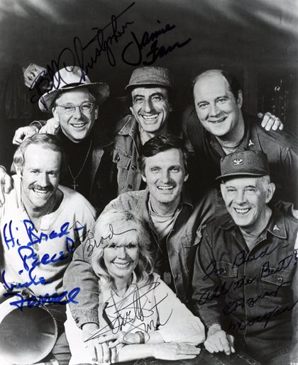 William Christopher, Mike Farrell, Loretta Swit, Jamie Farr, Harry Morgan. - What a great show. I still watch re-runs when I find them.