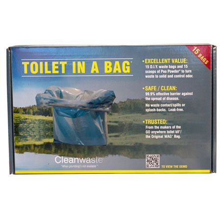"""Ezygonow Toilet In a Bag 
