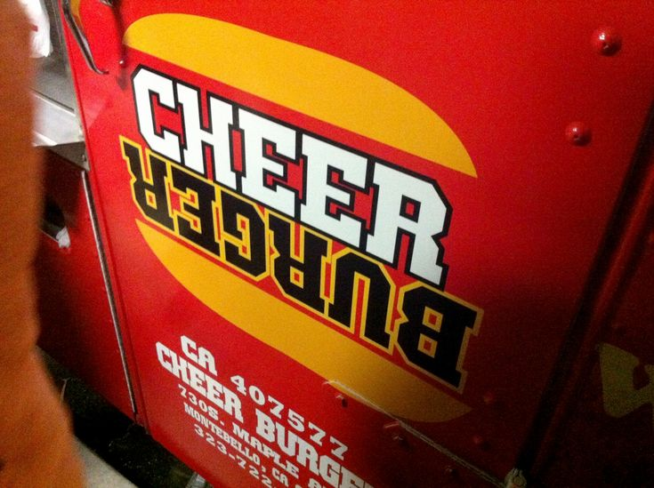 Cheer Burger in Los Angeles, USA