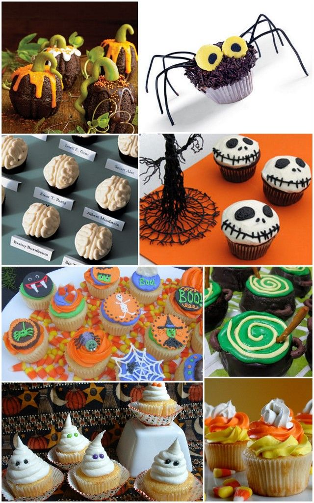 Halloween cupcake ideas!