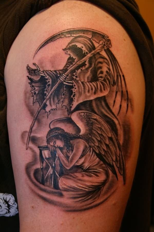 www.hoggifts.com angel and grim reaper tattoo