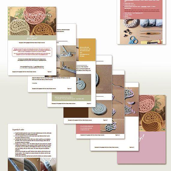 Crochet discount patterns package yin yang dish by goolgool