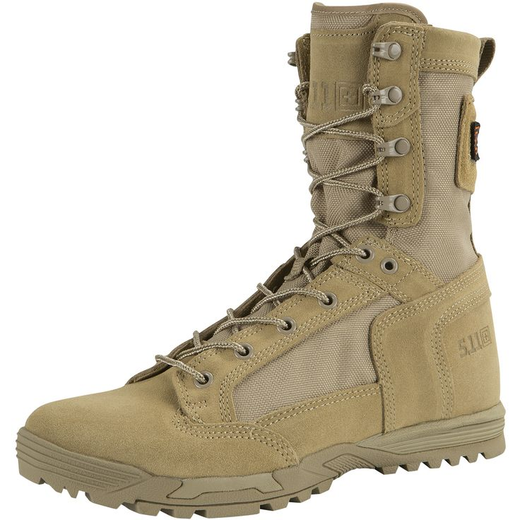 Ultra lightweight & comfortable 5.11 Skyweight #Boots feature a broad forefoot, full length CVEMA midsol, OrthoLite insoles & arch lugs for traction & rope work. Available now at Military 1st. Only £112.50!