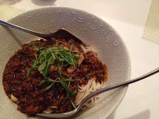 Dan Dan Sichuan street style noodles: Style Noodles, Dandan Noodles, Squid Ink, Chinese Dishes, Street Style, 100 Favorite, Favorite Dishes, Chine Dishes, Dinela Restaurant