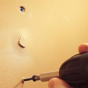 How to Fix Popped Drywall Nails and Screws - Article | The Family Handyman