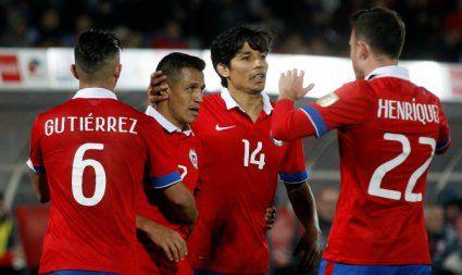 ¡Malas noticias! Selección chilena bajó un puesto en ranking FIFA. Octubre 06, 2015.