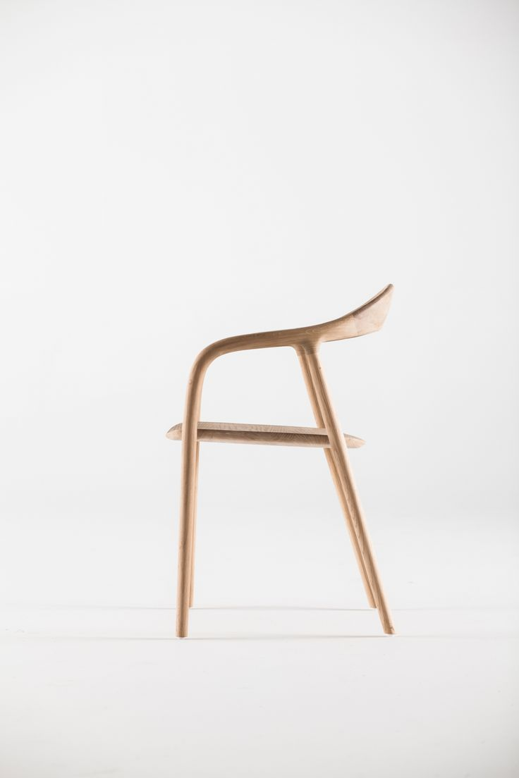solid wood chair that's ergonomic