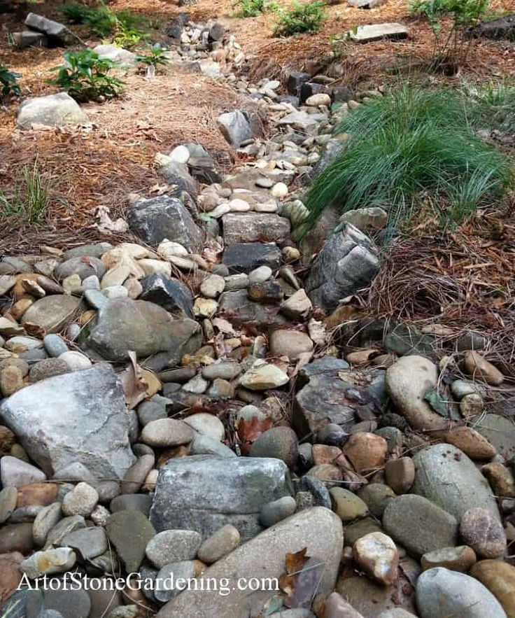 Pin by Angel Roberts on Dry Riverbed Landscaping Dry
