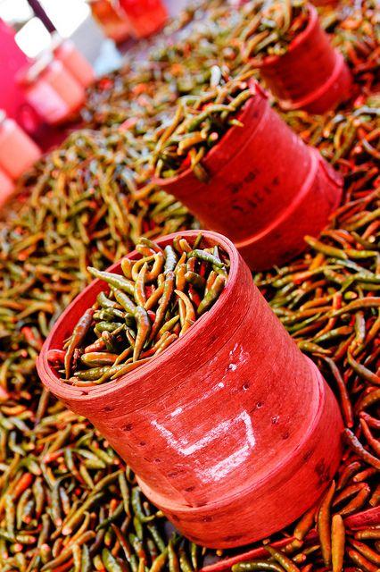 Piment - Marché de Saint Paul (Ile de la Réunion) La French Touch
