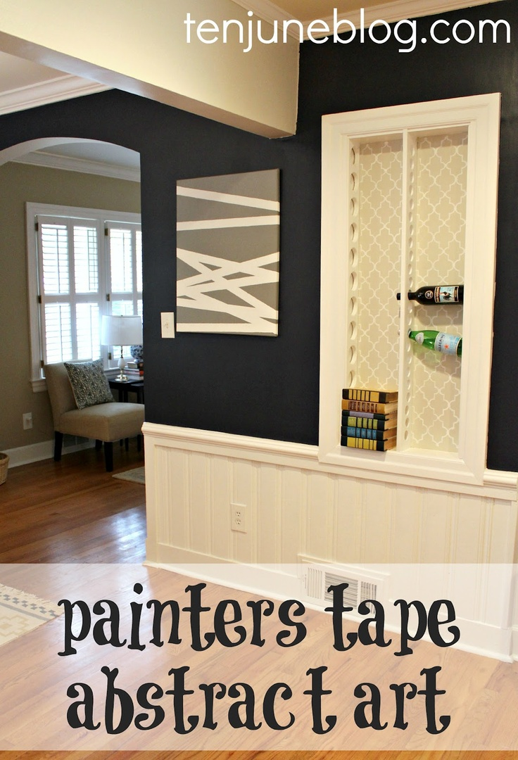 Cool Ways To Paint A Room With Painters Tape