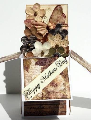 *Apr CT* Pop Up Card-pop up box card by Rosie Neustaedter