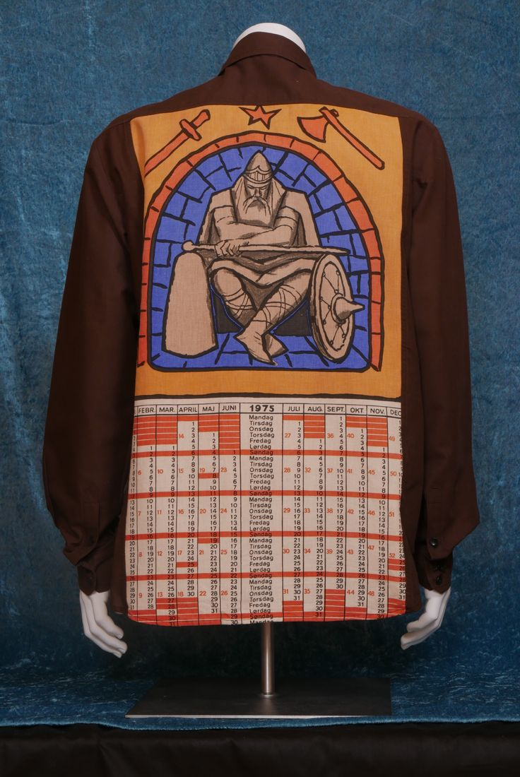 1975 Iron Man Strong cotton, linen. Size XL. UNTOUCHABLE collection, SYSI design