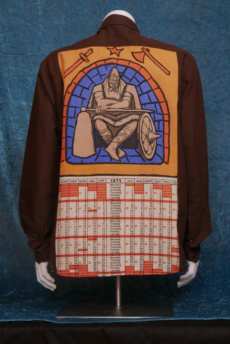 1975 Iron Man Strong cotton, linen. Size XL. UNTOUCHABLE collection, SYSI design