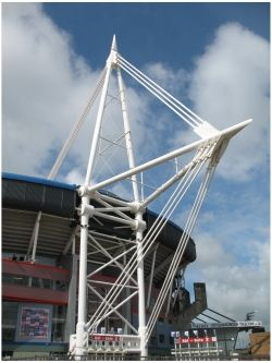 How to get from London to Cardiff for the London 2012 football fixtures at the beautiful Millennium Stadium: http://www.beyond-london-travel.com/London-to-Cardiff.html