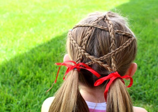 Fourth Of July Star Hair Beauty Hair Pinterest Hair Hair