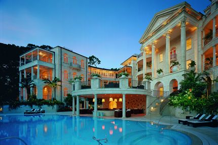 Sandy Lane Hotel, Barbados.