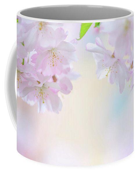 Descending Deities. Spring Pastels Coffee Mug by Jenny Rainbow.  Small (11 oz.)