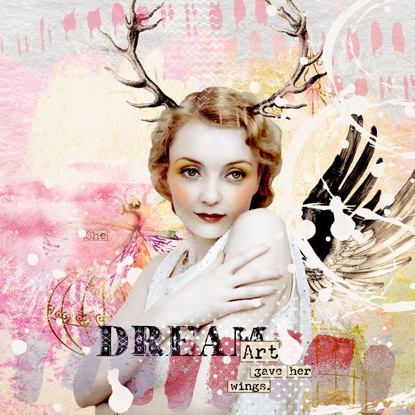 Dream #art #digital #scrapbook #digitalcollage #digital #photshop #photomanipulation