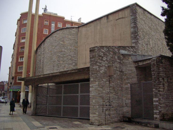 Iglesia de Nuestra Señora de la Coronación. Vitoria. Miguel Fisac