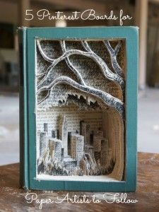 5 Pinterest Boards for Paper Artist to Follow |