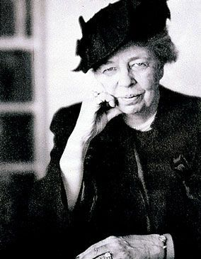 "Eleanor Roosevelt:"" no one can make you feel inferior without your consent."" "" stop to look fear in the face. You must do the thing you think you cannot do."" ""do what you feel in your heart to be right, for you will be criticized anyway."""