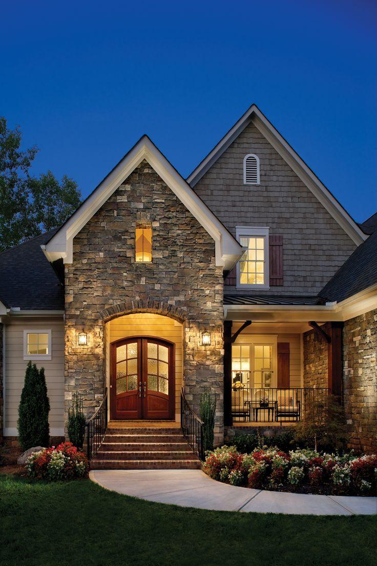 Las 25 mejores ideas sobre casas americanas en pinterest y for Casas modernas acogedoras