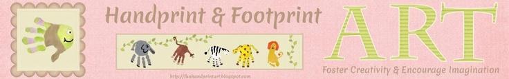 Handprint and Footprint Art