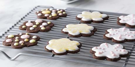 Decorated Shortbread Cut-Out Cookies