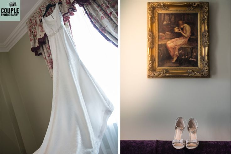 Those little details we love on the wedding day.  Wedding at Killashee House Hotel by http://www.couple.ie