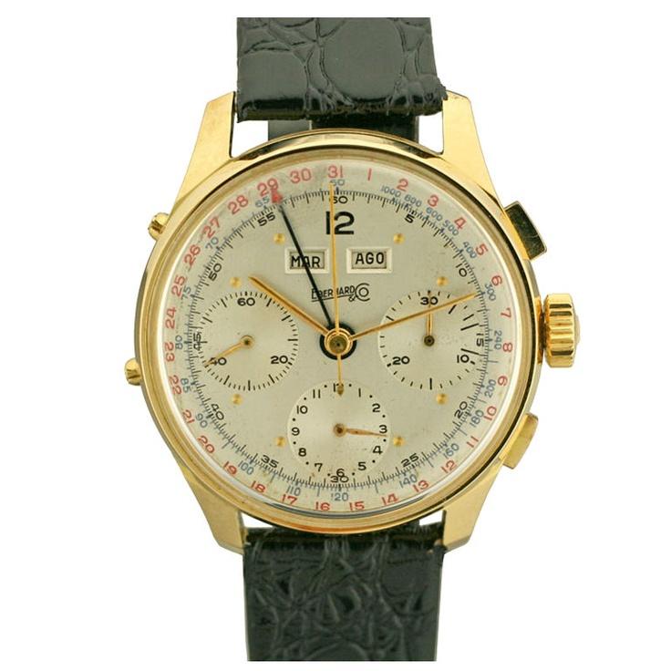 EBERHARD & CO. Triple Date Chronograph