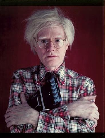 Andy Warhol. Photo: Bill Ray.