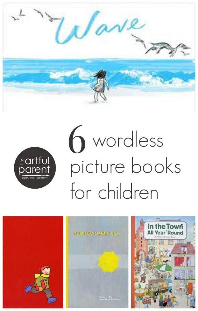 Wordless Picture Books for Children :: In the Town All Year 'Round