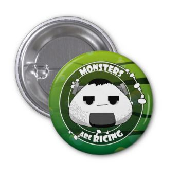 Be cute, be horror, be original! Apply this button on your bag or Halloween costume, and show some Frankestein love!