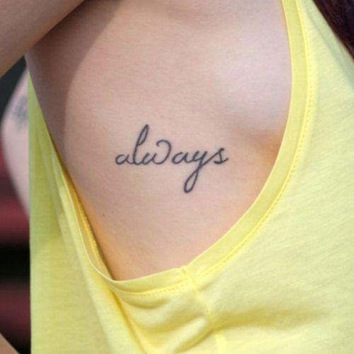 Best 25+ Simple Word Tattoos Ideas On Pinterest