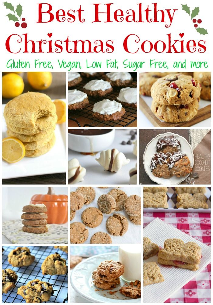 Love all the healthy recipe options for Christmas cookies.  Best ones I've seen.