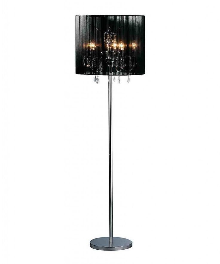 chandelier floor lamp draped jewels lamps crystal target cheap