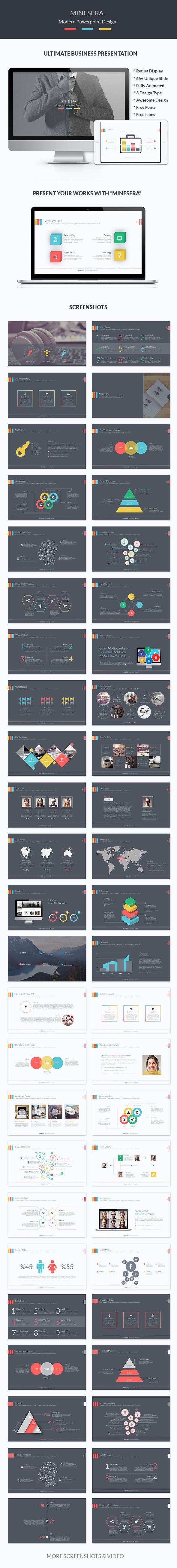Minesera Business Powerpoint Presentation