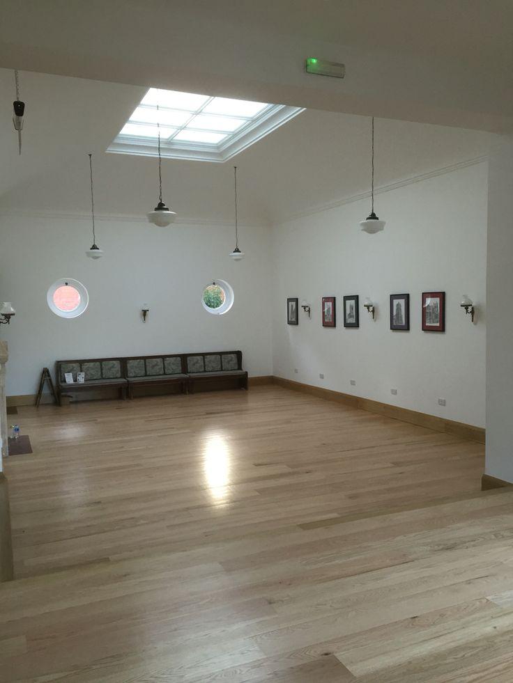 Interior main hall