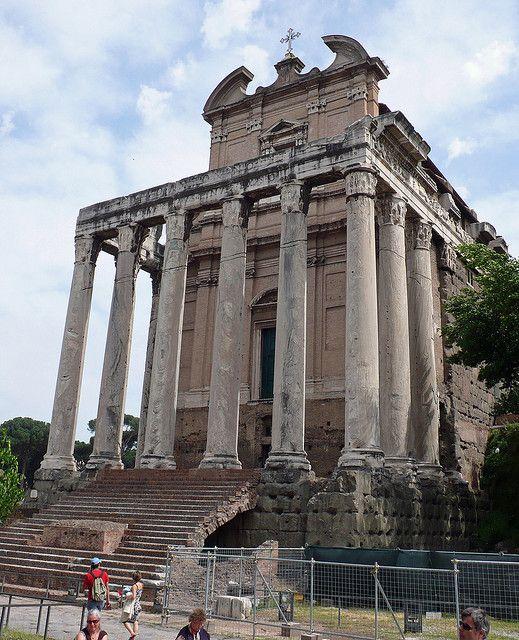 Temple of Antoninus and Faustina, Roman Forum