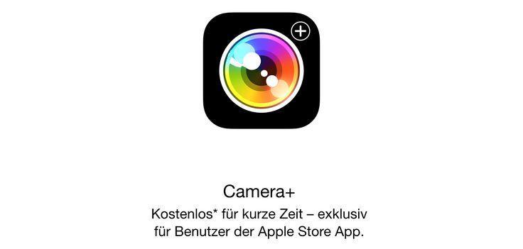 Camera+ heute kostenlos: Foto-App fürs iPhone mit iOS 8 Support! - https://apfeleimer.de/2014/10/camera-heute-kostenlos-foto-app-fuers-iphone-mit-ios-8-support - Camera+ heute kostenlos über die Apple Store App! Die beliebte Foto-App für das iPhone ist heute kostenlos als Download zu haben und gehört auf alle Fälle in das Repertoire von iPhone-Fotografen dazu. Über 10 Millionen Downloads sprechen sicherlich für die beliebte Foto App fürs iPhone, die bei e...