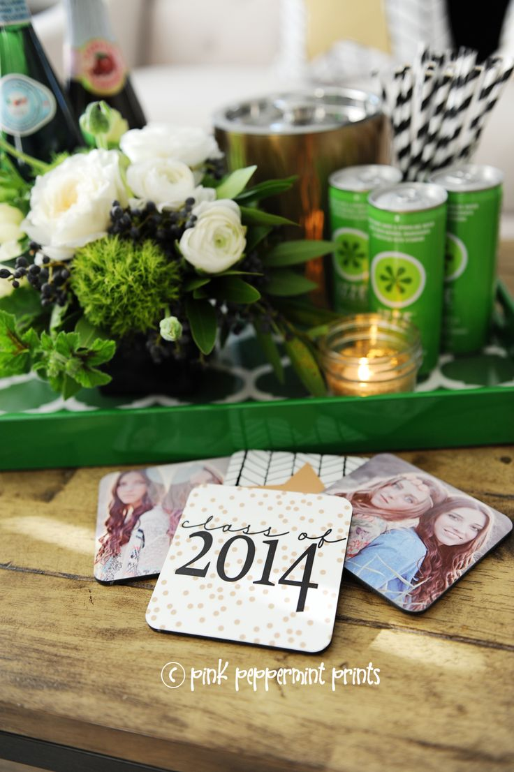 2014 graduation decorations - Graduation Parties And Beyond With Shutterfly Pink Peppermint Design