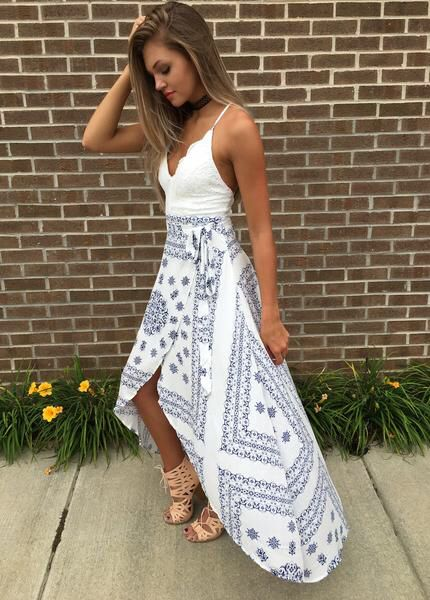 High low dress #swoonboutique