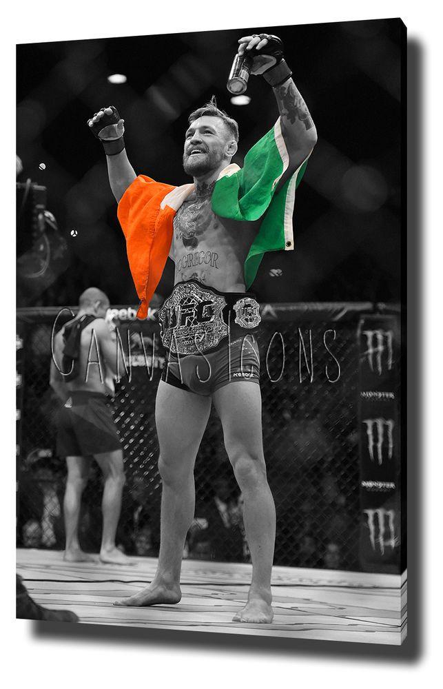 CONOR MCGREGOR CANVAS PRINT POSTER PHOTO UFC 194 WALL ART 2015 ALDO
