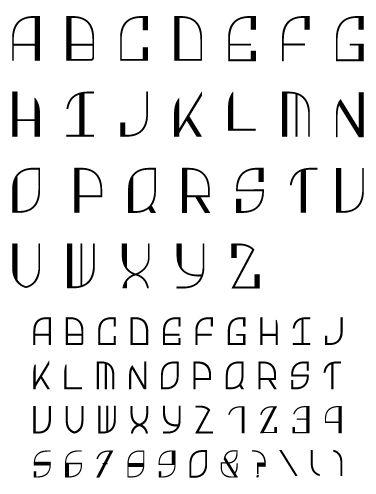 art deco font - Bing Images