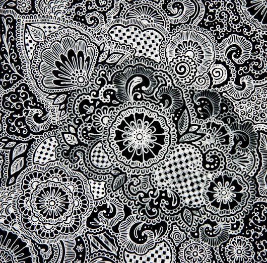 Mehndi Zentangle : Henna design zentangle time pinterest designs