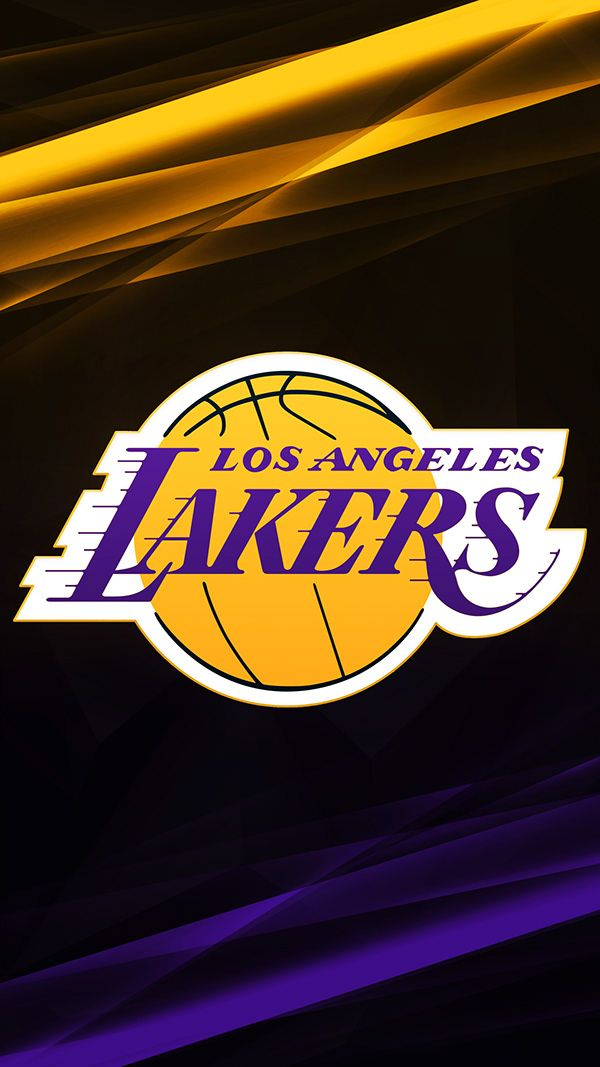 Nba Logo Phone Wallpapers On Behance Lakers Wallpaper Nba Logo Nba